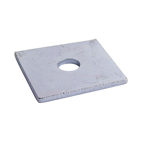 M12 Square Plate Washer 50mm x 50mm x 3mm