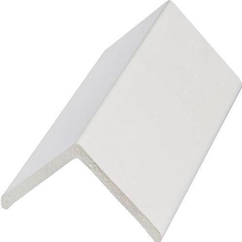 50mm White Pvc Angle
