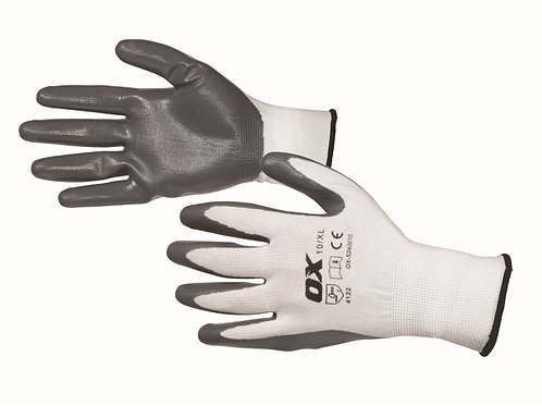 Ox Nitrile Flex Gloves Size 10 XL