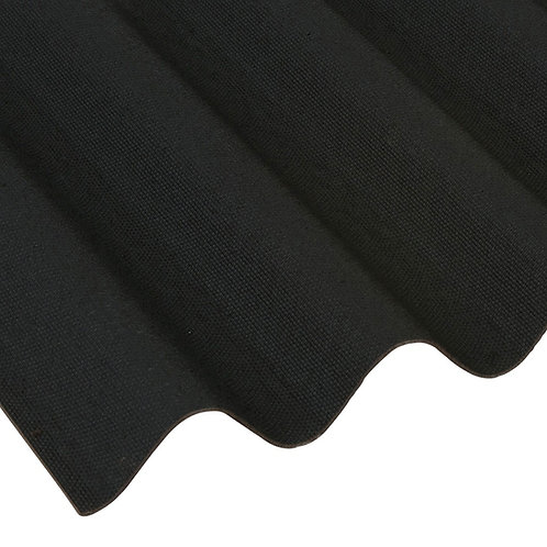 Coroline Roofing Sheet Black 2000mm x 950mm