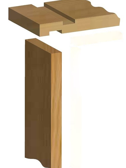 Softwood Door Lining Set without Stops - 32mm x 175mm 2'6 inch/2'9 inch
