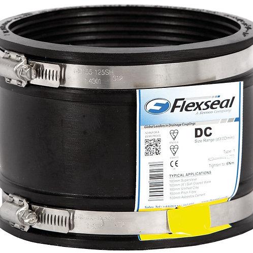 Rubber Repair Coupler 4 Inch PVC To 4 Inch PVC DC115