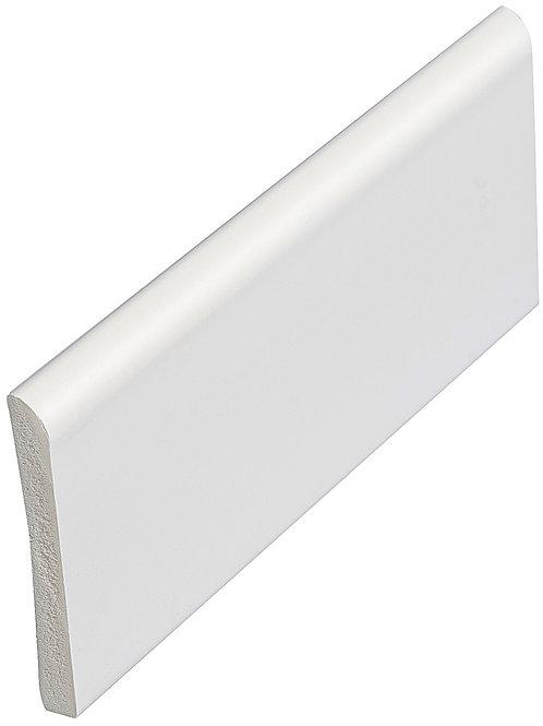 45mm x 6mm White Pvc Architrave