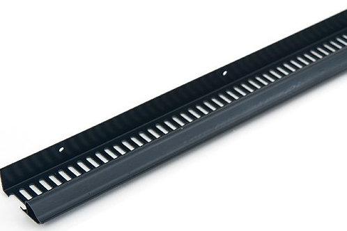 Continuous Soffit Vent Type C 10mm Airflow Black 2440mm