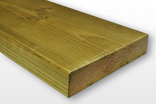 Easi Edge 47mm x 225mm Treated Timber - Choose length