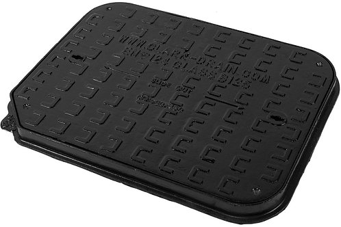 Cast Iron Manhole Cover - 600mm x 450mm x 40mm Deep