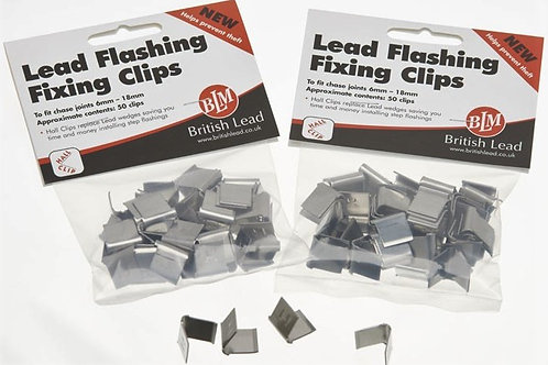 Lead Flashing Hall Clips (Pack of 50)