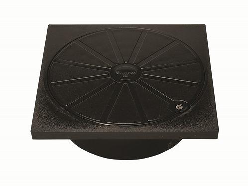 DS068 Hunter Underground Square PVC-U Cover & Frame 230mm Chamber