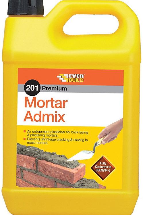 201 Mortar Admix Plasticiser - 5 litres