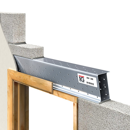 Steel Box Lintel 200 -  2700mm