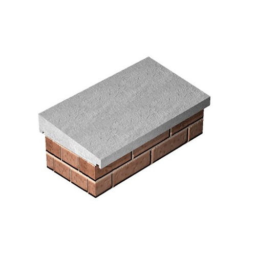 Once Weathered Concrete Coping 305mm x 610mm