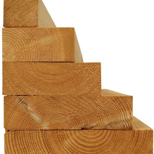 PAR Timber 50mm x 100mm - Per metre