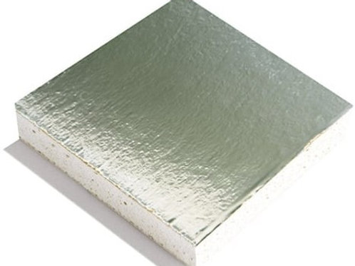 GTEC Plasterboard Foil Backed (Vapourboard) Straight Edge - 2400mmx1200mmx12.5mm