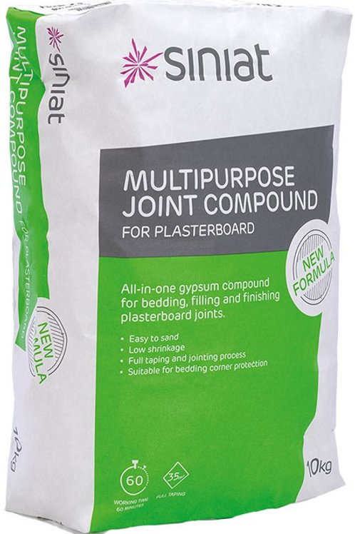 Siniat Multipurpose Joint Compound - 10kg Bag