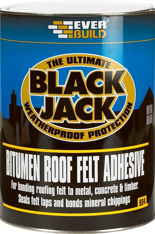 Black Jack 904 Bitumen Felt Adhesive - 5 litres