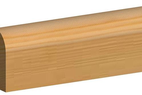 Bullnose Skirting Timber 19 x 75mm