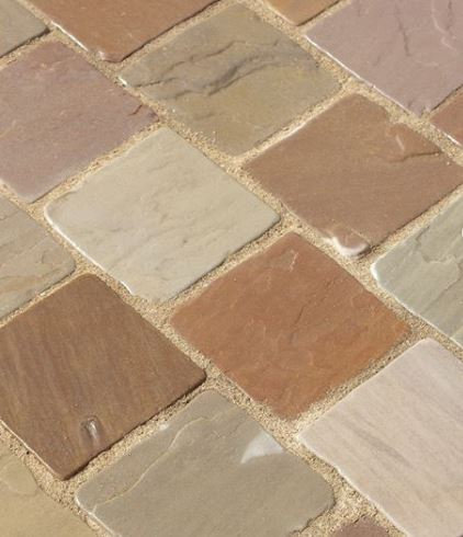 Tumbled Sandstone Setts Forest