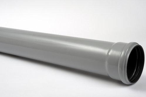 GS509 Hunter Soil 110mm Soil Pipe 4m Socketed Grey