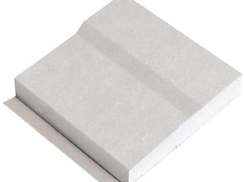 GTEC Plasterboard Standard Straight Edge - 2400mm x 1200mm x 12.5mm