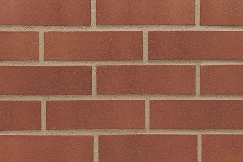 Red Smooth 65mm Perforated Semi Engineering Brick