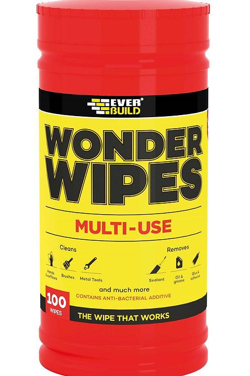 Wonder Wipes Trade Tub - 100 Wipes