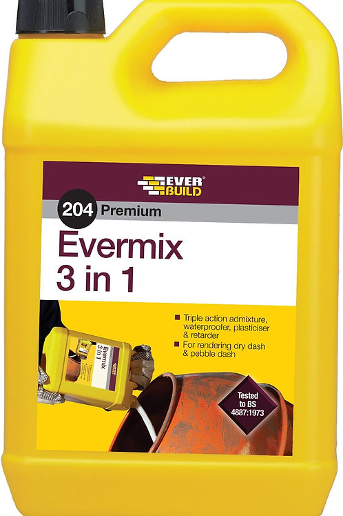 204 Evermix 3 in 1 - 5 litres