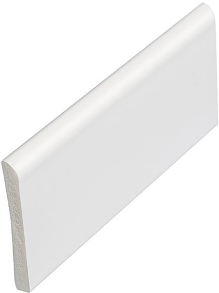 70mm x 6mm White Pvc Architrave