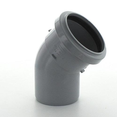 GS331 Hunter Soil 110mm 135 Degree Bend Grey