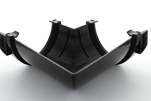 BR615 Hunter Surefit Guttering 125 Angle Internal 90 Degree Black