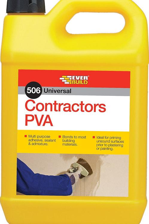 506 Contractors PVA - 5 litres