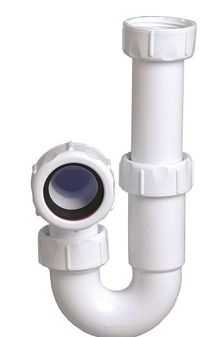 P040A Hunter Multikwik 40mm Tubular Swivel P Trap Adjustable