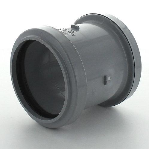 GS211 Hunter Soil 110mm Slip Coupling Grey