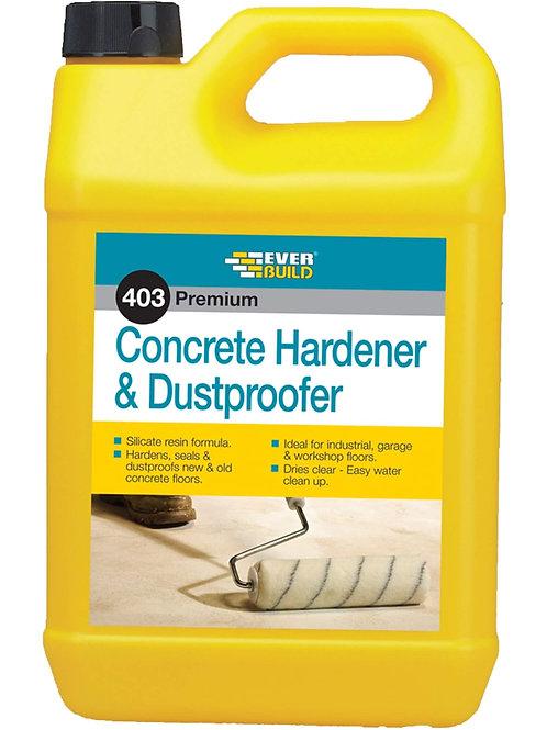 403 Concrete Hardener & Dustproofer - 5 litres