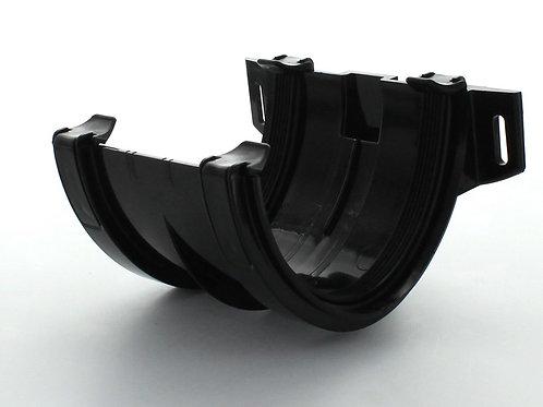 BR608 Hunter Surefit Guttering 125 Joint Bracket Black