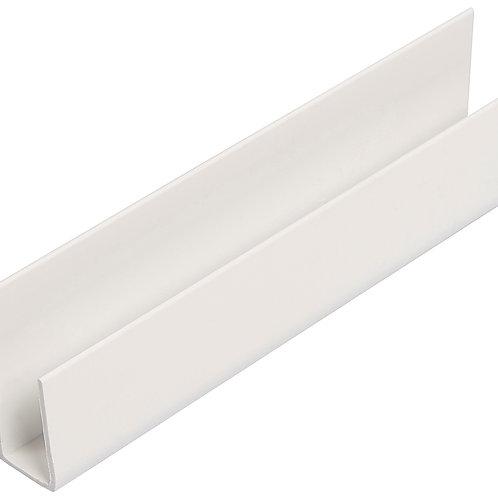 White Pvc Hollow Soffit Starter/Channel Trim