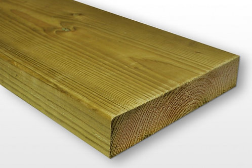 Easi Edge 47mm x 200mm Treated Timber - Choose length