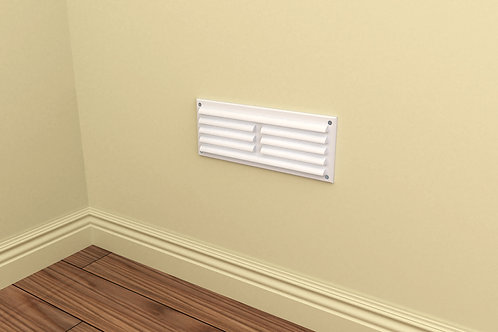 9 x 3 Louvred Grille Hit & Miss Vent White