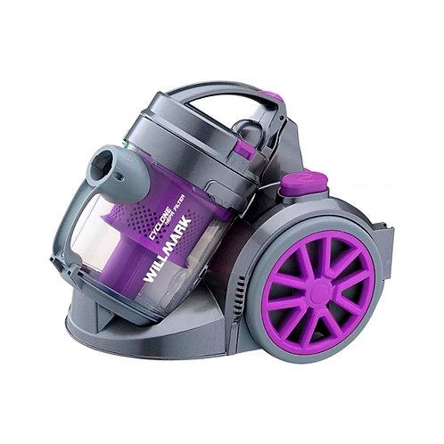 Пылесос WILLMARK 1615CY (Циклон, без мешка, 1600Вт) Фиолетовый