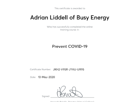 Prevent COVID-19 Awareness Course