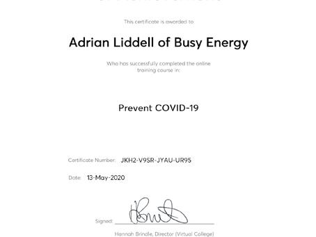 Prevent COVID-19 Awareness Course