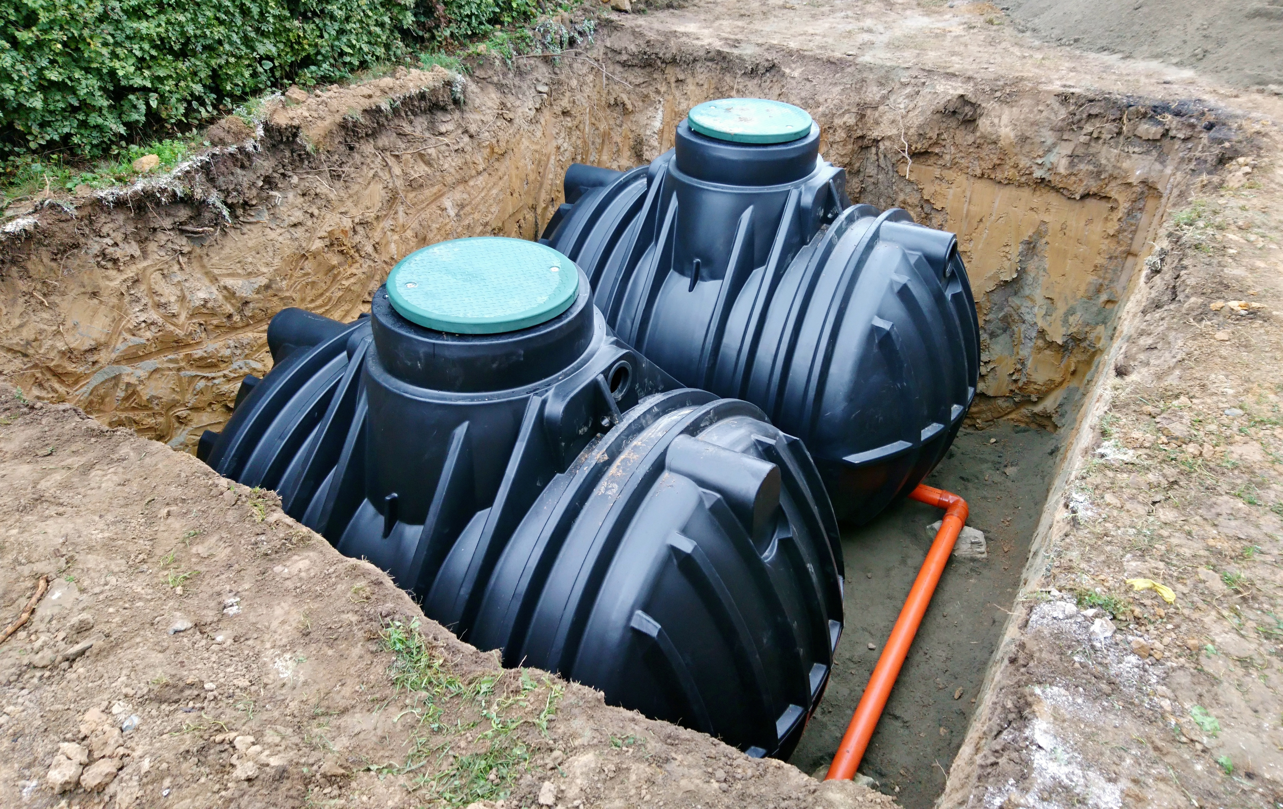 Rainwater Harvesting Tanks