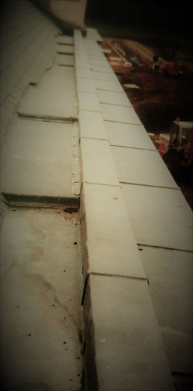 Lead Gutter and Capping