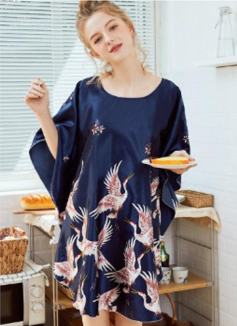Floral Print Kimono Sleepwear