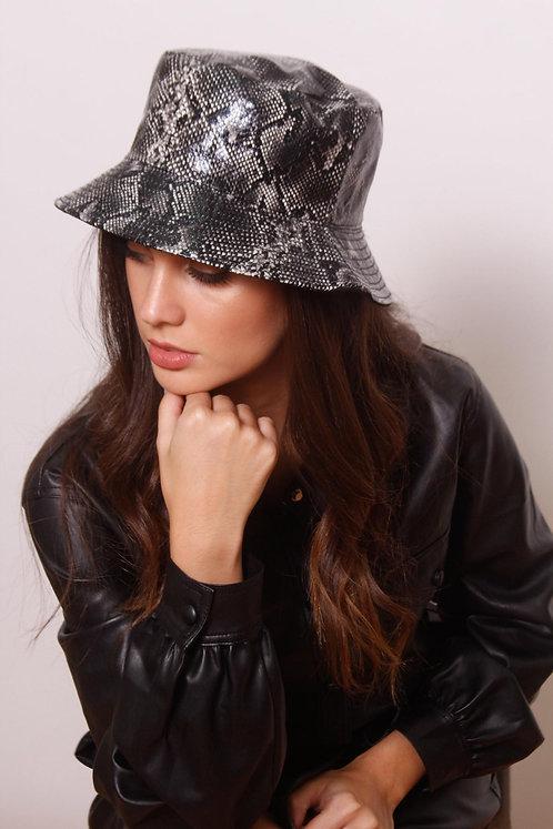 Snake Skin Bucket Hat