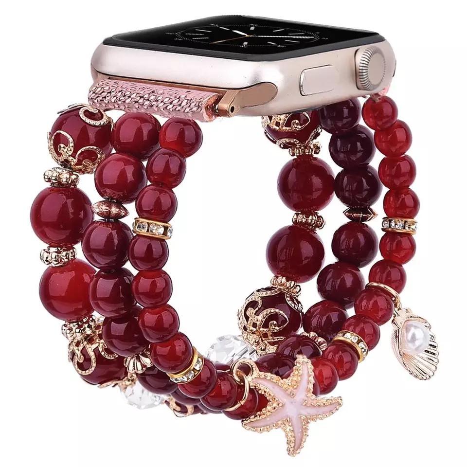 Beaded Apple Watch Band