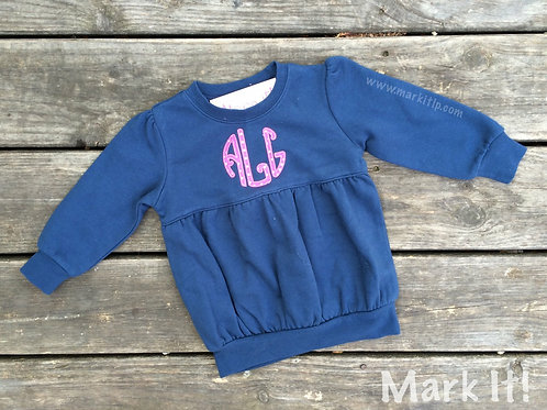 Bubble Sweatshirt - Applique