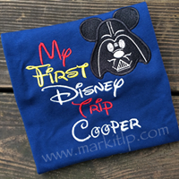 Darth 1st Disney