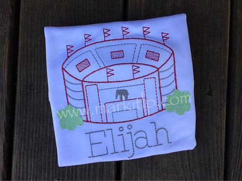 Stadium Stitch Shirt - Bryant Denny