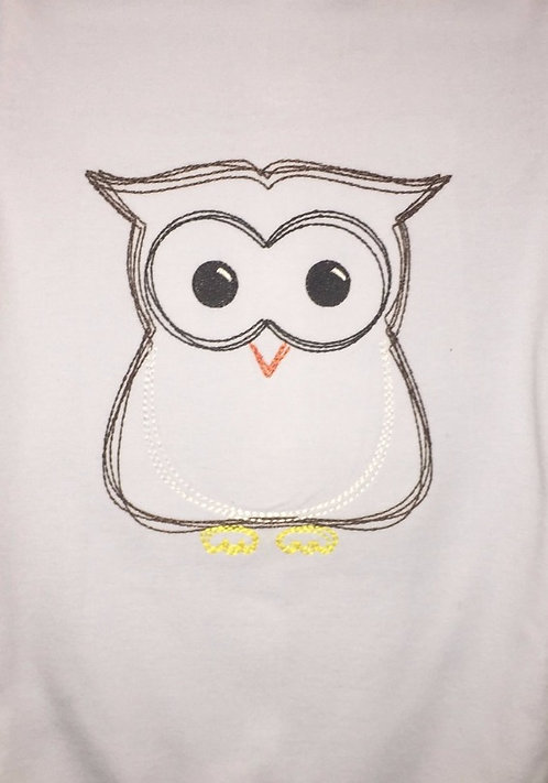 Owl Simple Stitch