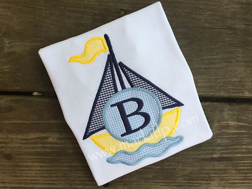 Sailboat Monogram